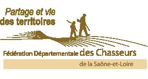 Logo de la Fédération Départementale des Chasseurs de la Saône et Loire