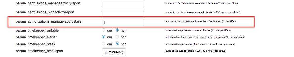 indiquer le ou les identifiant(s) dans le paramètre authorizations_managelabordetails